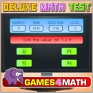 Play Deluxe Math Test