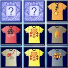 Play Memory T shirts Theme