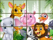 Play Animals Sliding Puzzle