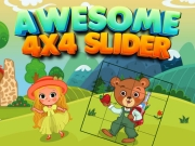 Play Awesome 4x4 Slider