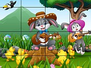 Play Easter Sliding Puzzle