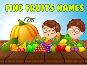 Play Find Fruits Names