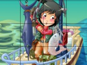 Play Fisherman Sliding Puzzle