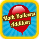 Play Math Balloons Addition