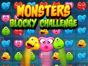 Play Monsters Blocky Challenge