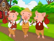 Play Pig Family Jigsaw