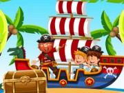 Play Pirates Board Puzzle